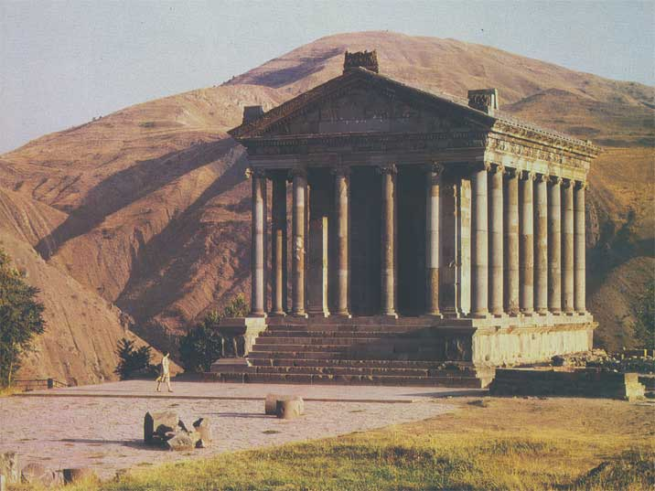 The Garni temple situated 32 km southeast from Yerevan is one of the main tourist attractions of Armenia