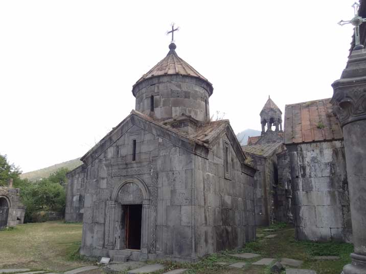 Haghpat Monastery is a masterpiece of religious architecture and was a major centre of learning in the Middle Ages