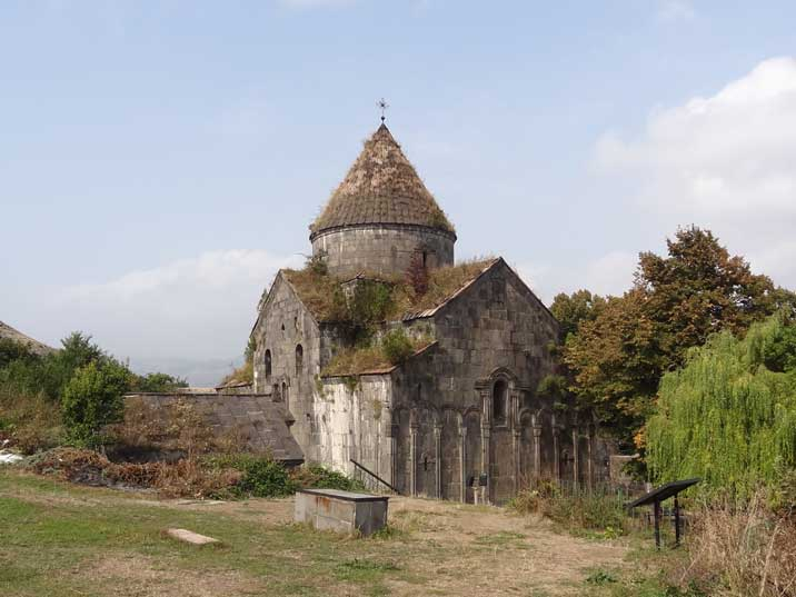 The 10th century Sanahin monastery is a UNESCO World Heritage Site and a structure of great beauty