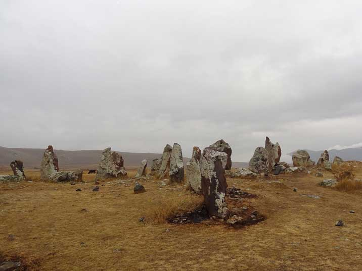 Zorats Karer, often called the Armenian Stonehenge is a prehistoric burial place near the city of Sisian