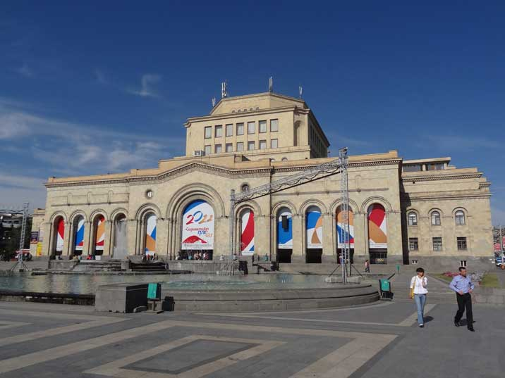 The History Museum of Armenia was founded in 1919 and is located on the Republic Square in Yerevan