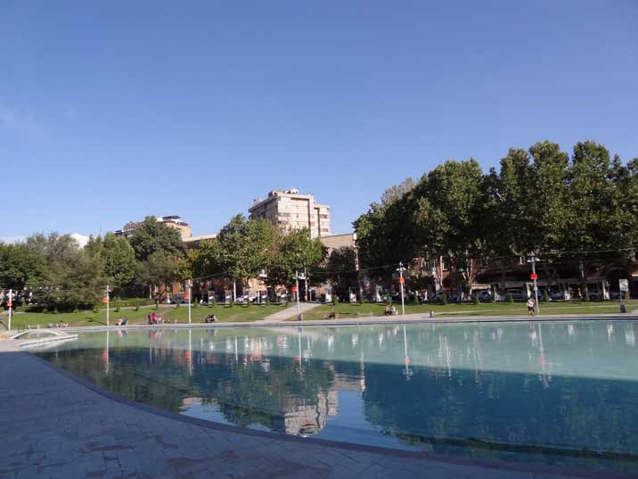 Swan Lake is an artificial lake in the centre of Yerevan with many nice outdoor cafes where people like to meet