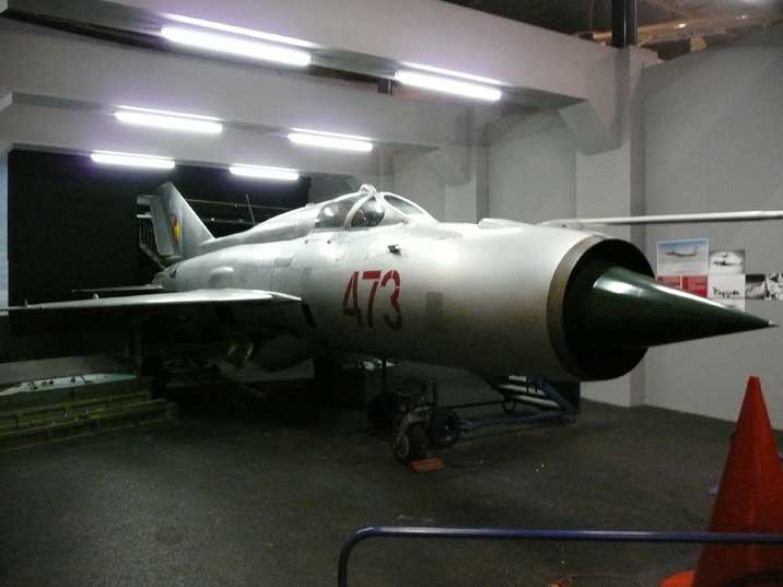 The Aviodrome MiG-21 is fully restored by the MiG Restore Team