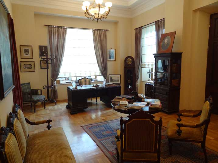 The office of Alfred Nobel from where the Nobel Brothers' Petroleum Company in Baku was managed in the late 19th century