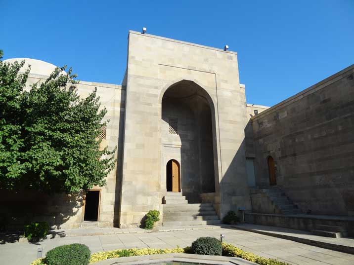 Shirvan Shahs Palace was build by Ibrahim I of Shirvan when he moved his capital to Baku during the 15th century