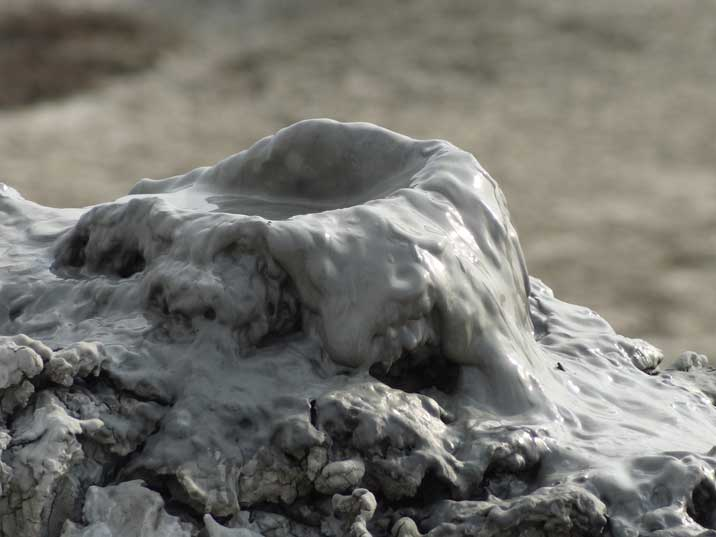 There are over 400 mud volcanoes in Azerbaijan, more than half the total throughout the world