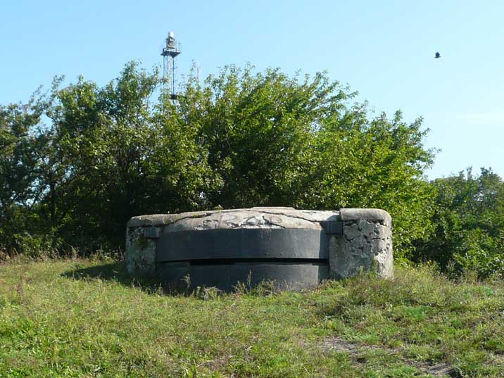 German World War II bunker near the Baltiysk coast line
