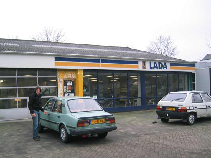A classis car needs to be maintained by specialist in our case a Skoda and Lada garage in Amsterdam