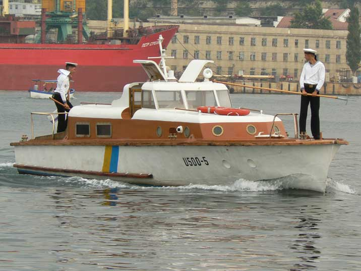 Ukrainian Admiralets class workboat (Project 371U) in Sevastopol