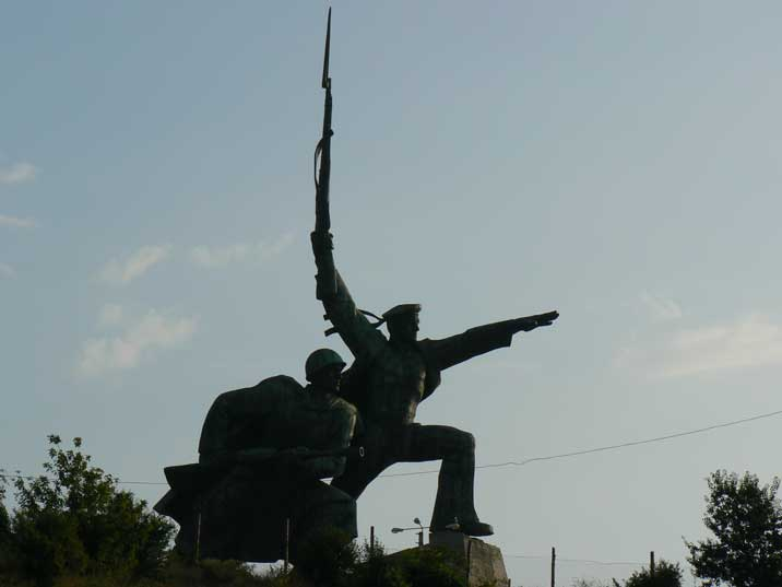 Soldier and Sailor Memorial to Heroic Defenders of Sevastopol