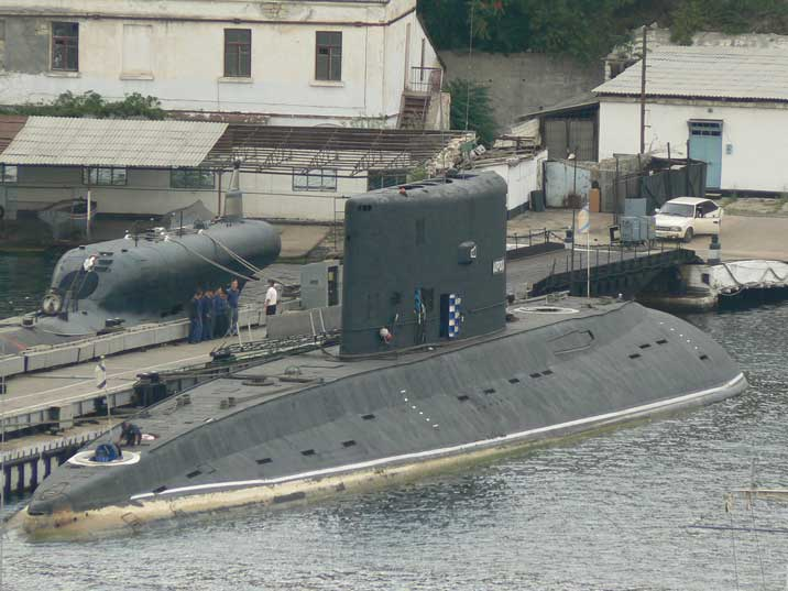 Project 877V (Nato designation Kilo) submarine B-871 Alrosa