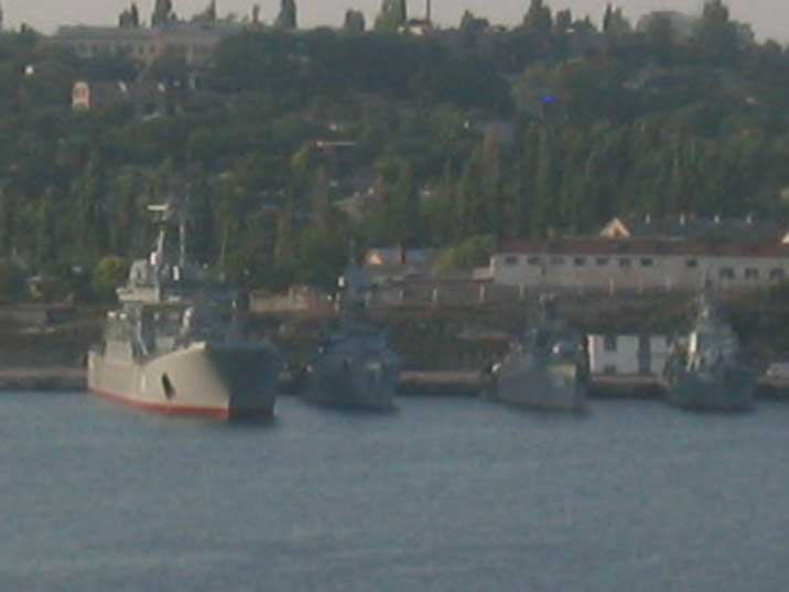 Kostiantyn Olshansky and Grisha V class anti-submarine corvettes