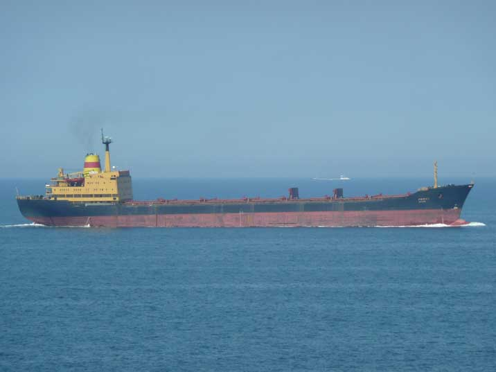 Bulgarian bulker Rojen, build on the Varna Georgi Dimitrov yard