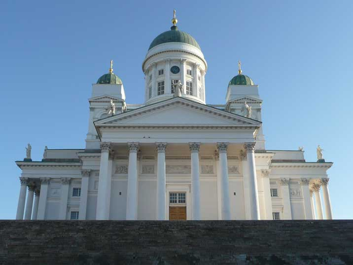 Helsinki Cathedral, built as a tribute to Czar Nicholas I