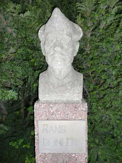 Hans Beimler, a German communist who died in the Spanish civil war