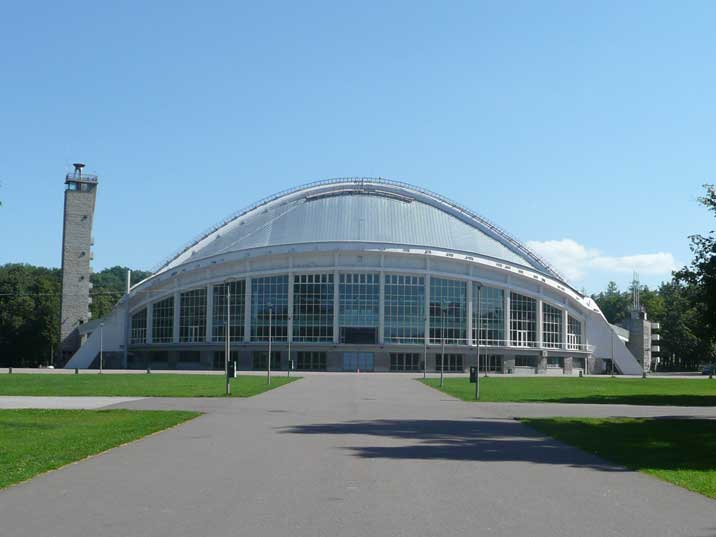 The Tallinn Song Bowl used in the summer for open air music events