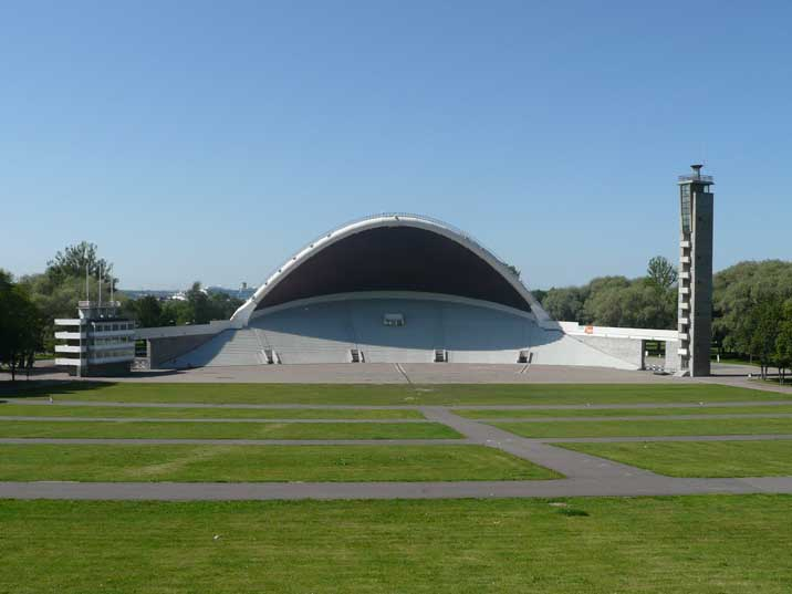 The Tallinn Song Bowl with a maximum capacity of 150.000 people