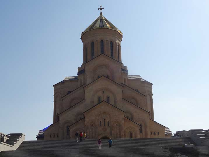 The Holy Trinity Cathedral was constructed between 1995 and 2004, it is the third-tallest Orthodox church in the world