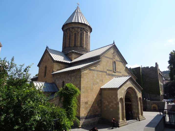The 5th century Sioni Cathedral remained functional through Soviet times, and was renovated from 1980-1983