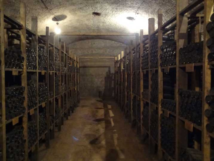 Wine cellar of Tsinandali Palace the home of the famous 19th century Georgian poet Alexander Chavchavadze