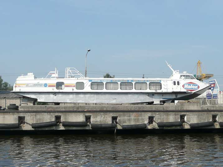 Polesye class hydrofoil waiting for repair in Kaliningrad