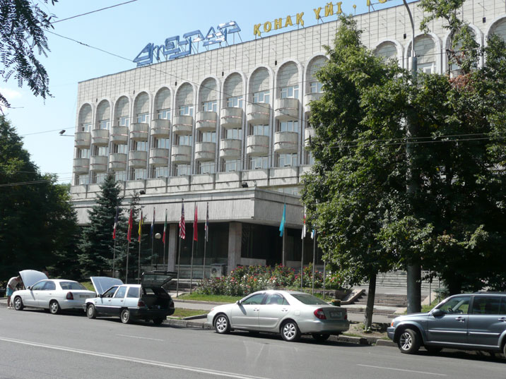 We stayed at Hotel Saulet, a typical Soviet era middle class hotel