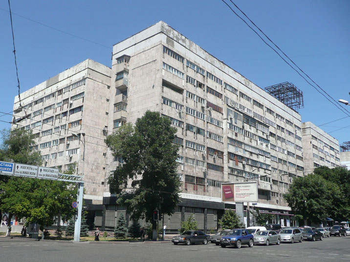 Large Soviet era apartment blocks on Gogol Street