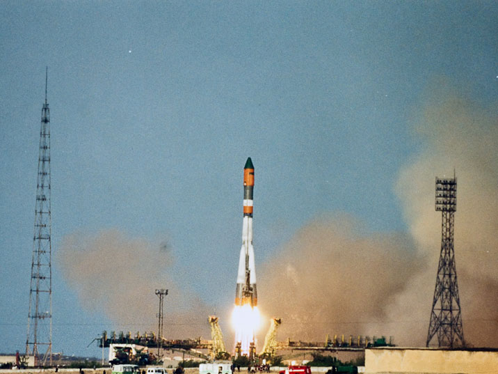 It is possible for tourists to witness a Soyuz launch from Baikonur Cosmodrome