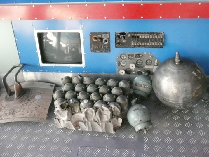 More parts that fell of rockets that were launched by the Soviets and later Russian a Baikonur