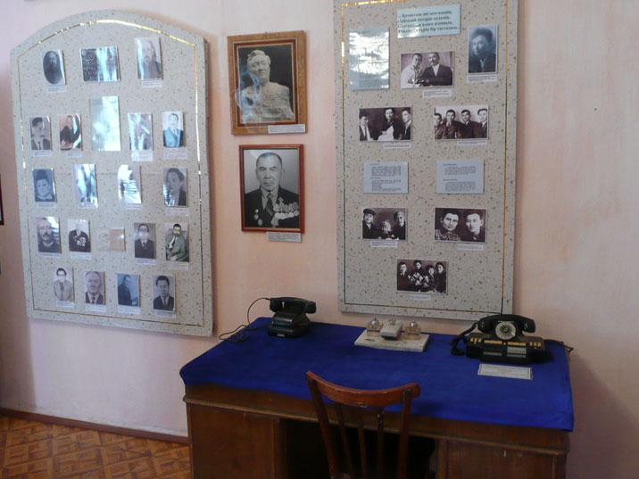 Desk of a former local Communist official who later became important in Moscow