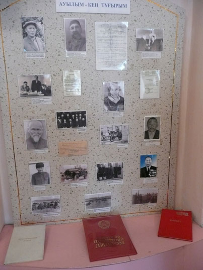 More photos and belongings of local communists in the Karaganda city museum