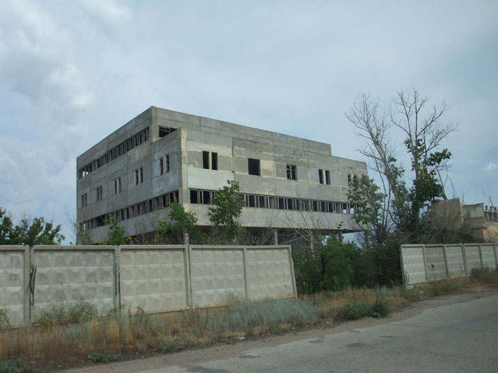 Some buildings in Kurchatov lost their purpose, other were not finished after the end of nuclear testing