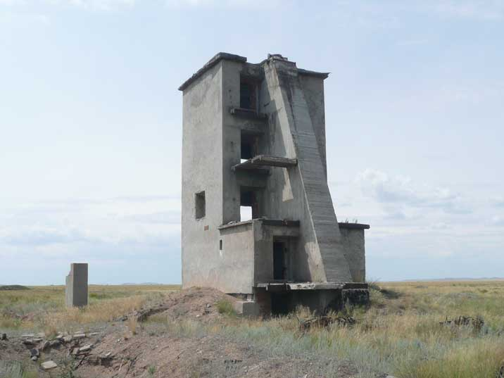 Opytnoe Pole, test site of the first Soviet nuclear explosion
