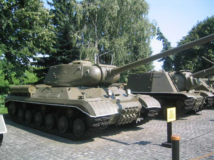 IS-1 tank, named after Joseph Stalin developed during World War II