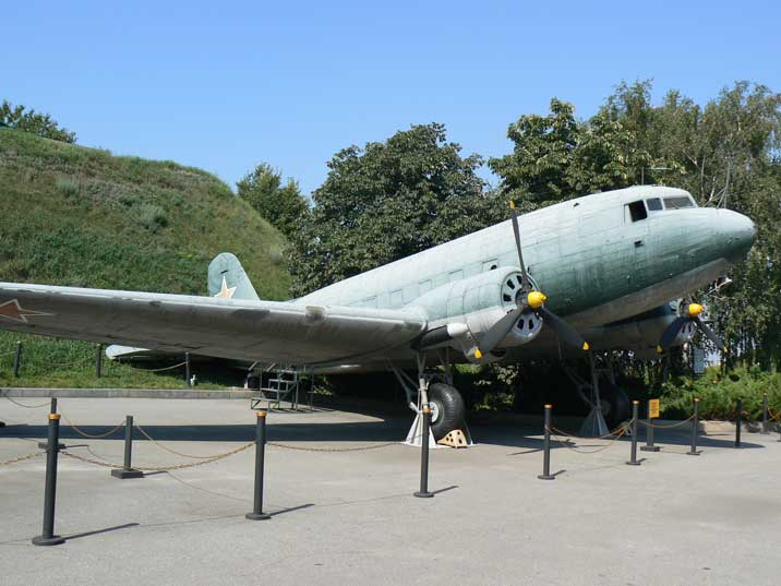 Lisunov Li-2 (license built DC-3) produced by the GAZ-84 works