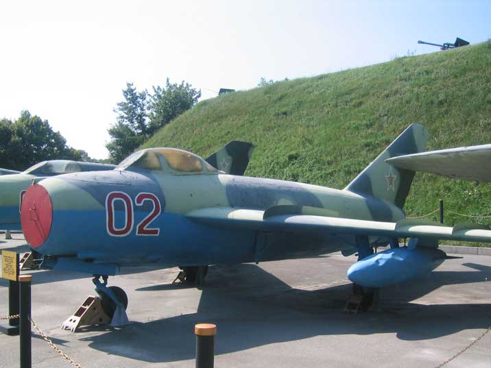 Mikoyan-Gurevich MiG-17, NATO name Fresco produced from 1952