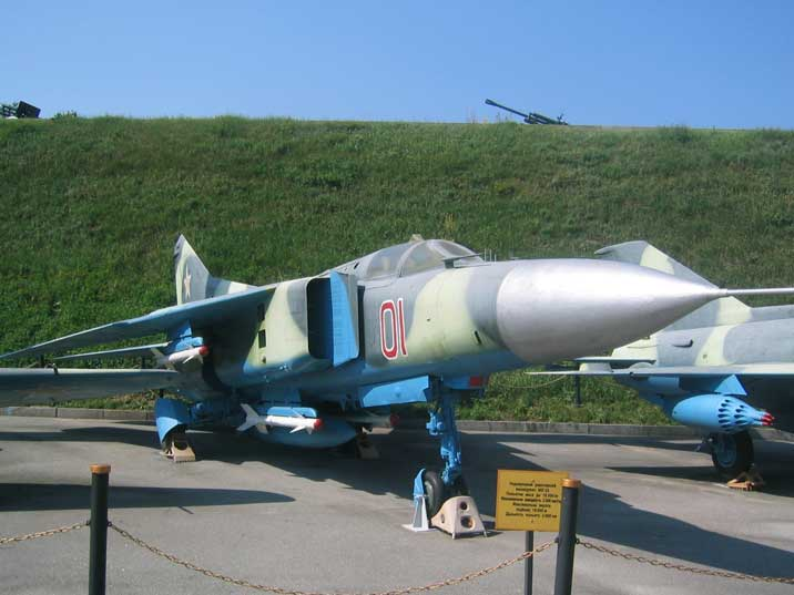 Mikoyan-Gurevich MiG-23 Flogger with over 5000 aircraft built