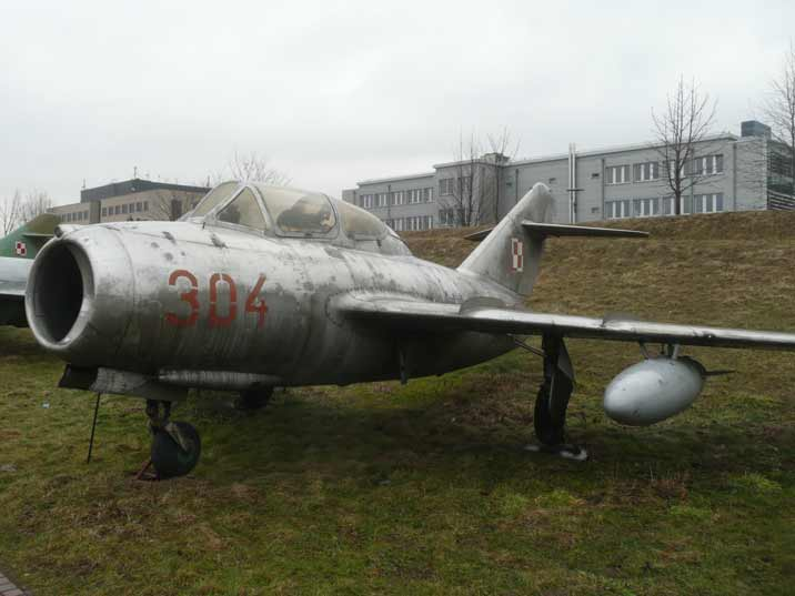 Mikoyan Gurevich MiG-15UTI Midget two seat dual control trainer