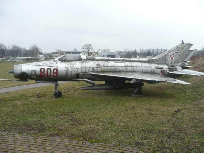MiG-21F-13, the first MiG-21 model to be produced in large numbers