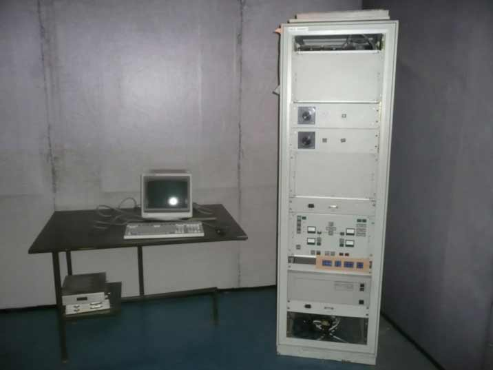 Old Soviet computer system used on Warsaw Pact air bases