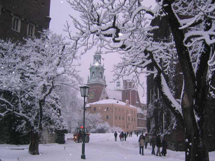 The Old town of Krakow is probably one of the most picturesque places in Europe, especially in the winter