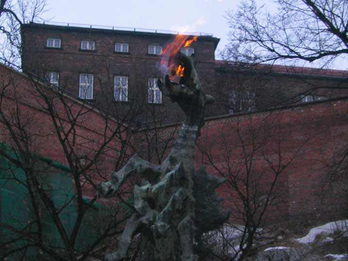 The Dragon of Wawel Hill is a famous dragon in Polish folklore, laired in a cave at the bank of the Vistula River