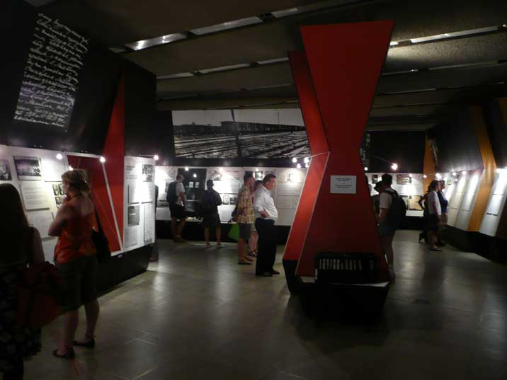 Exposition about Soviet crimes in the Latvian Occupation Museum