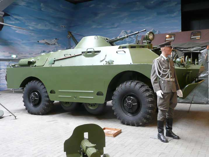 BRDM-2 Armoured Scout Car obtained from the East German Army