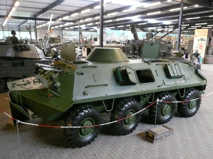 BTR-60 Armoured Personnel Carrier produced in the USSR from 1965