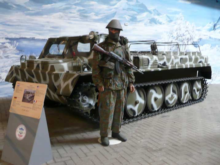 GAZ-71 or GT-SM Tracked Amphibious carrier used for snow terrain