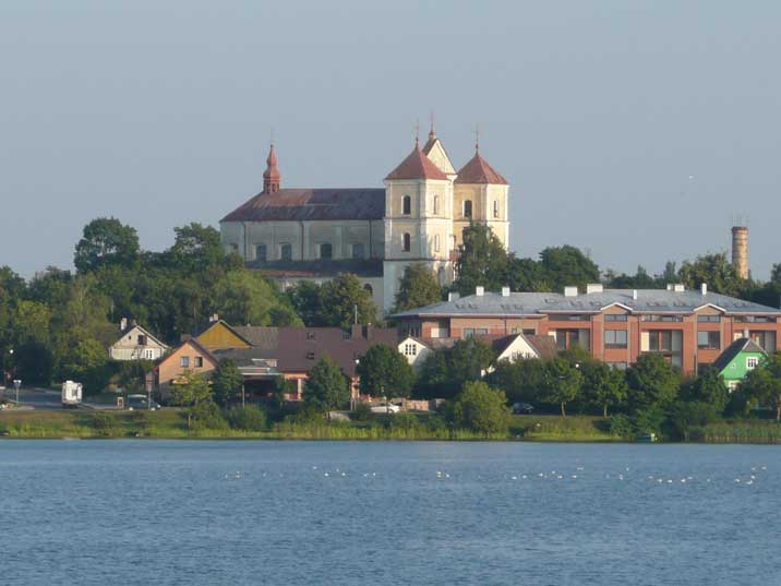 The church of Visitation of Holy Virgin Mary in Trakai Lithuania