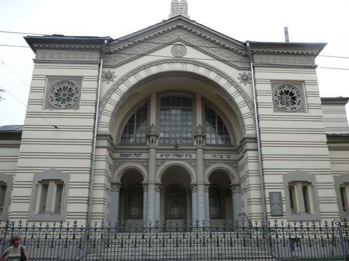 The only synagogue in Vilnius, once named Jerusalem of the North