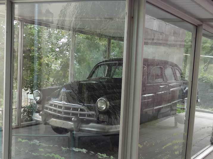 The GAZ-12 ZIM limousine that belonged to Anastas Mikoyan when he was working as a minister in Moscow
