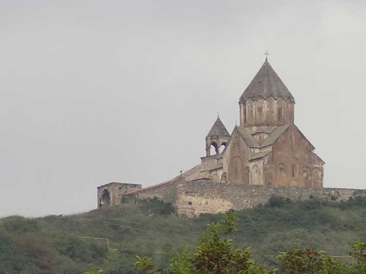 The 10 to 13th century Gandzasar monastery with relics that are believed to belong to St. John the Baptist